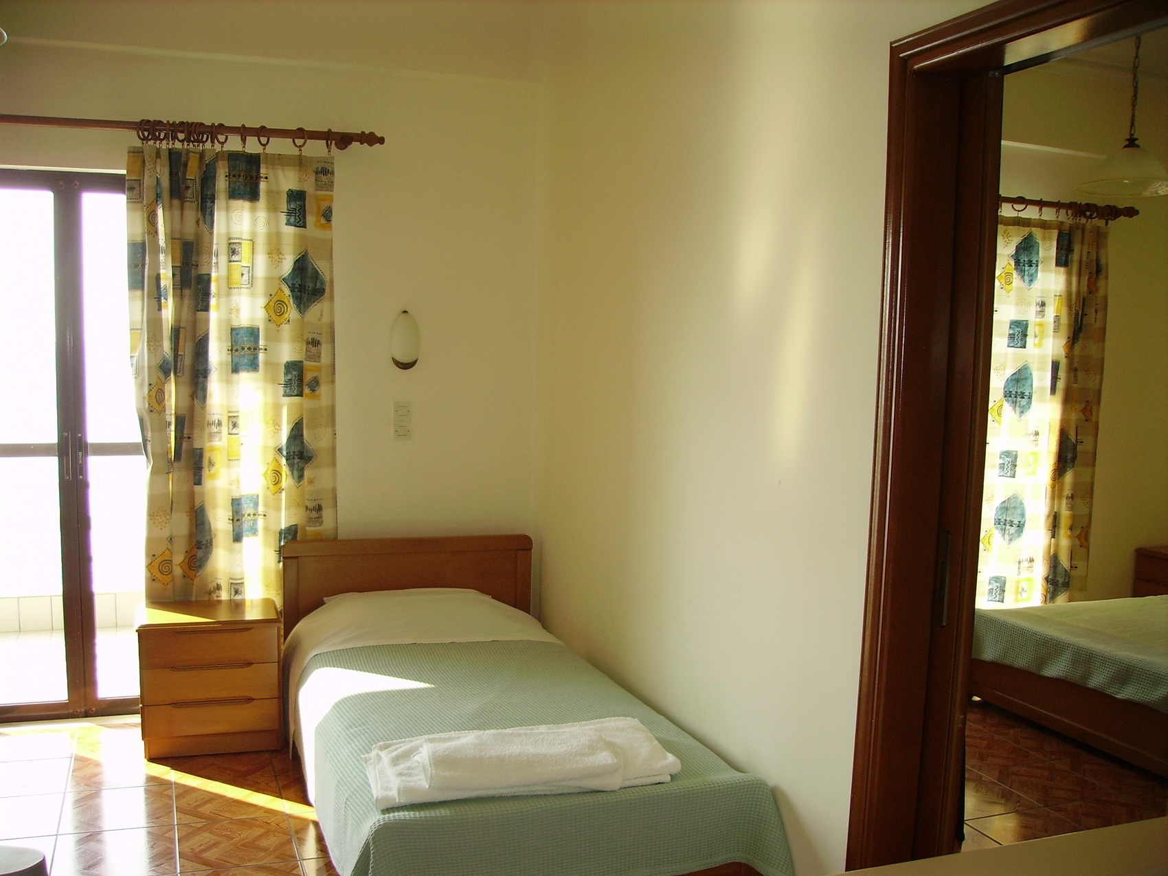 a family friendly big room at Poseidon Hotel